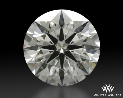 0.904 ct F VS1 A CUT ABOVE® Hearts and Arrows Super Ideal Round Cut Loose Diamond