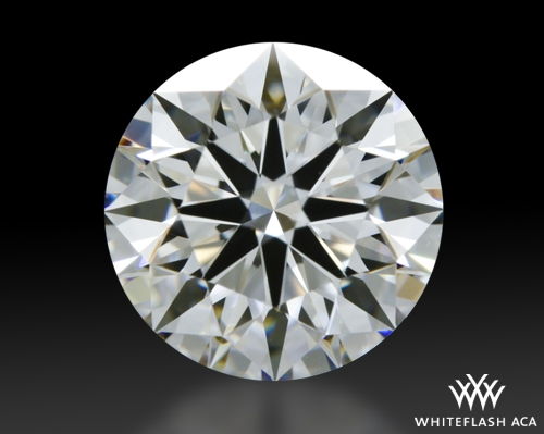 1.306 ct F VVS1 A CUT ABOVE® Hearts and Arrows Super Ideal Round Cut Loose Diamond