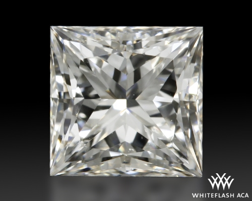 0.708 ct G VS2 A CUT ABOVE® Princess Super Ideal Cut Diamond