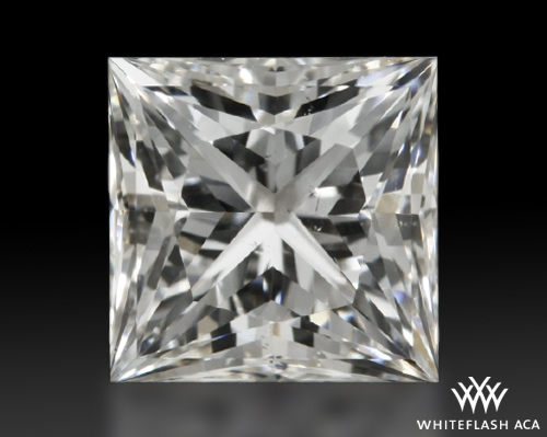 0.761 ct I SI1 A CUT ABOVE® Princess Super Ideal Cut Diamond