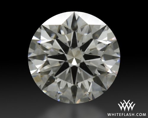 1.497 ct F VS2 A CUT ABOVE® Hearts and Arrows Super Ideal Round Cut Loose Diamond