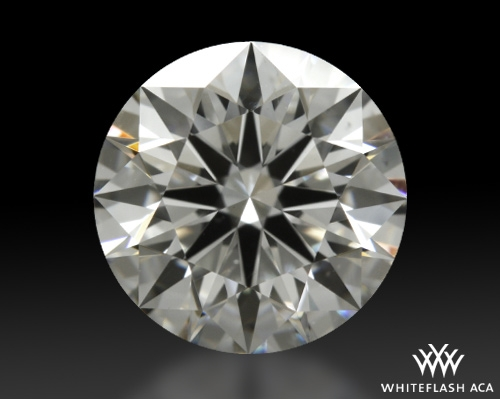 1.252 ct F SI1 A CUT ABOVE® Hearts and Arrows Super Ideal Round Cut Loose Diamond