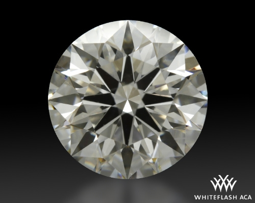 1.215 ct H SI1 A CUT ABOVE® Hearts and Arrows Super Ideal Round Cut Loose Diamond