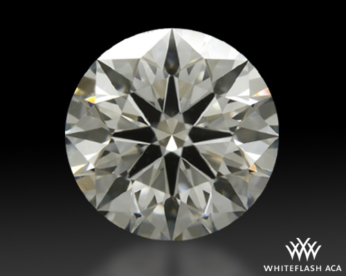 1.34 ct H VS1 A CUT ABOVE® Hearts and Arrows Super Ideal Round Cut Loose Diamond