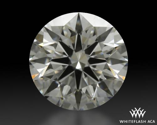 1.112 ct G VS2 A CUT ABOVE® Hearts and Arrows Super Ideal Round Cut Loose Diamond