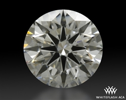 1.128 ct F VS1 A CUT ABOVE® Hearts and Arrows Super Ideal Round Cut Loose Diamond