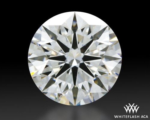 1.002 ct G VS1 A CUT ABOVE® Hearts and Arrows Super Ideal Round Cut Loose Diamond