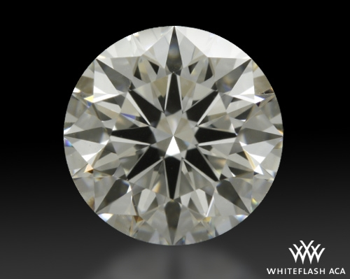 1.002 ct H VVS2 A CUT ABOVE® Hearts and Arrows Super Ideal Round Cut Loose Diamond