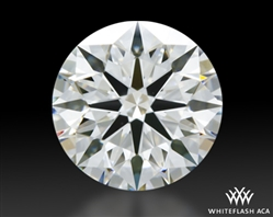 1.005 ct G VS1 A CUT ABOVE® Hearts and Arrows Super Ideal Round Cut Loose Diamond