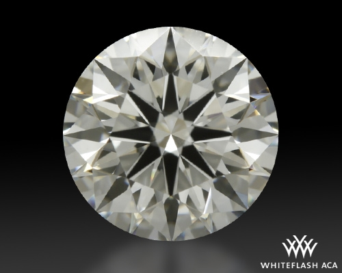 1.04 ct H VS2 A CUT ABOVE® Hearts and Arrows Super Ideal Round Cut Loose Diamond