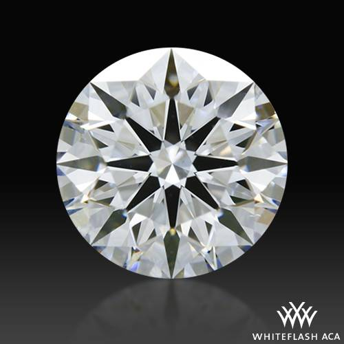 0.902 ct E VS2 A CUT ABOVE® Hearts and Arrows Super Ideal Round Cut Loose Diamond
