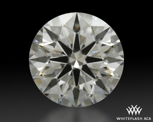 0.763 ct F VS2 A CUT ABOVE® Hearts and Arrows Super Ideal Round Cut Loose Diamond