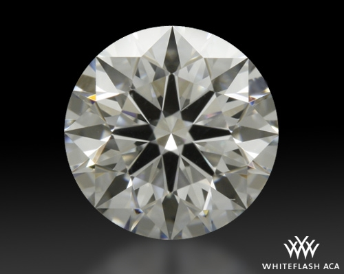 0.742 ct F VS1 A CUT ABOVE® Hearts and Arrows Super Ideal Round Cut Loose Diamond