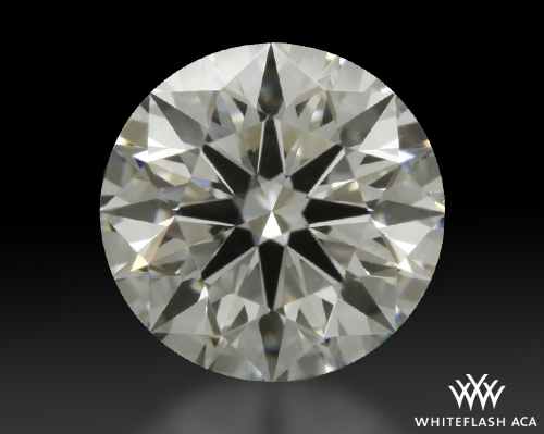 0.846 ct H VVS2 A CUT ABOVE® Hearts and Arrows Super Ideal Round Cut Loose Diamond