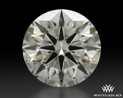 0.711 ct G VS2 A CUT ABOVE® Hearts and Arrows Super Ideal Round Cut Loose Diamond