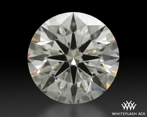 0.767 ct G VS1 A CUT ABOVE® Hearts and Arrows Super Ideal Round Cut Loose Diamond
