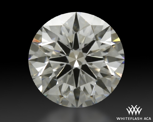 0.728 ct F VS2 A CUT ABOVE® Hearts and Arrows Super Ideal Round Cut Loose Diamond