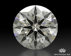 0.777 ct F VS2 A CUT ABOVE® Hearts and Arrows Super Ideal Round Cut Loose Diamond