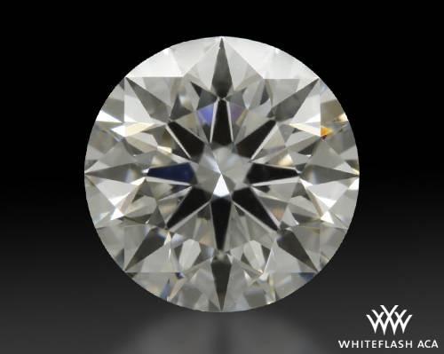 0.814 ct E VS2 A CUT ABOVE® Hearts and Arrows Super Ideal Round Cut Loose Diamond