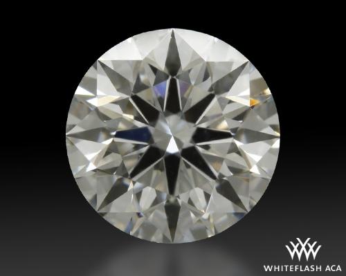 0.814 ct E VS2 A CUT ABOVE® Hearts and Arrows Super Ideal Round Cut Loose Diamond