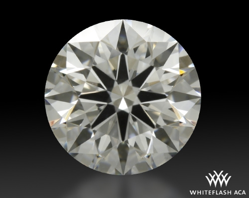 0.751 ct F VS1 A CUT ABOVE® Hearts and Arrows Super Ideal Round Cut Loose Diamond
