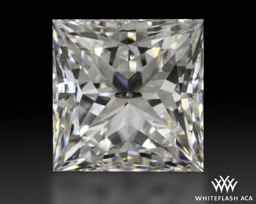 0.702 ct G VS2 A CUT ABOVE® Princess Super Ideal Cut Diamond