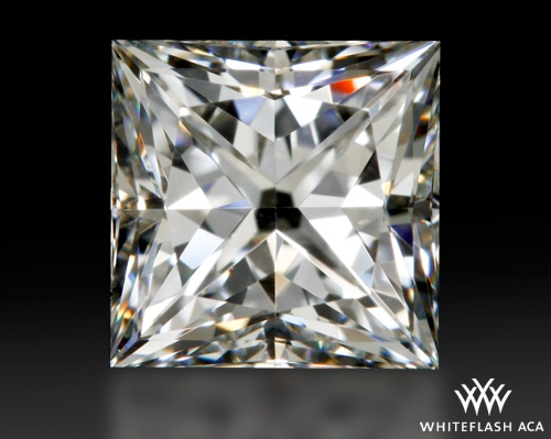 0.831 ct H VS1 A CUT ABOVE® Princess Super Ideal Cut Diamond