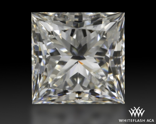 0.75 ct H VS2 A CUT ABOVE® Princess Super Ideal Cut Diamond