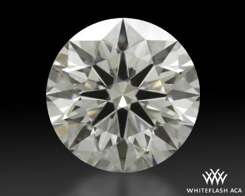 1.084 ct H VS1 A CUT ABOVE® Hearts and Arrows Super Ideal Round Cut Loose Diamond