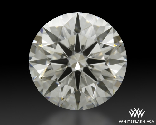 1.05 ct F VS2 A CUT ABOVE® Hearts and Arrows Super Ideal Round Cut Loose Diamond