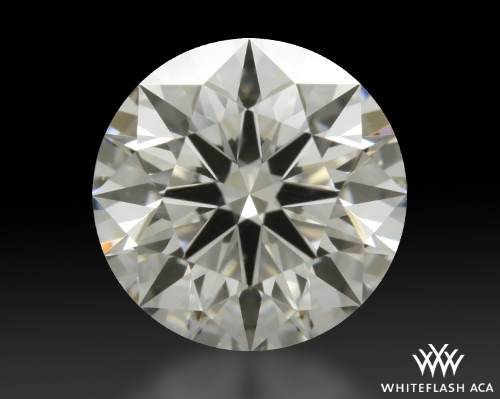 1.128 ct H VS2 A CUT ABOVE® Hearts and Arrows Super Ideal Round Cut Loose Diamond