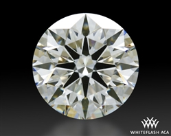 1.084 ct I VS1 A CUT ABOVE® Hearts and Arrows Super Ideal Round Cut Loose Diamond