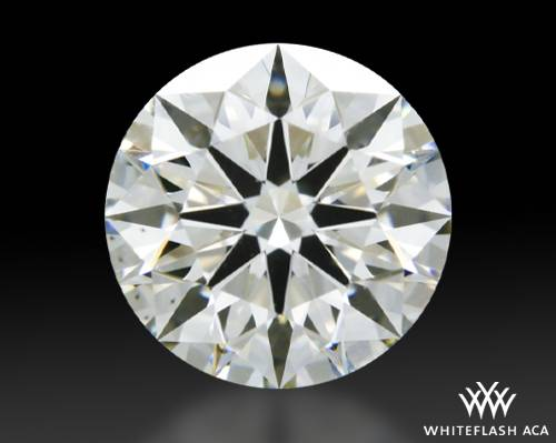 1.057 ct J VS2 A CUT ABOVE® Hearts and Arrows Super Ideal Round Cut Loose Diamond