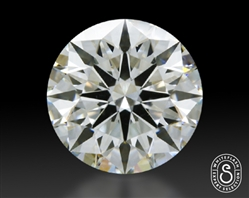 1.068 ct H SI1 Expert Selection Round Cut Loose Diamond