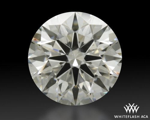 1.048 ct H SI1 A CUT ABOVE® Hearts and Arrows Super Ideal Round Cut Loose Diamond