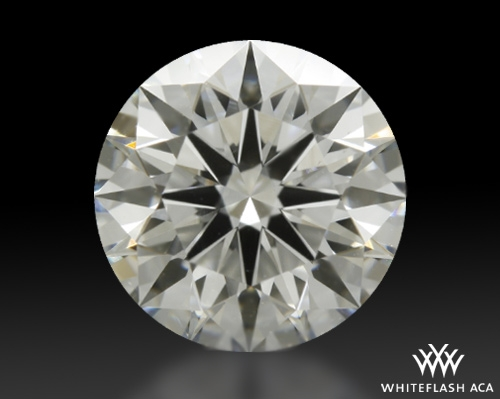 1.208 ct G VS2 A CUT ABOVE® Hearts and Arrows Super Ideal Round Cut Loose Diamond