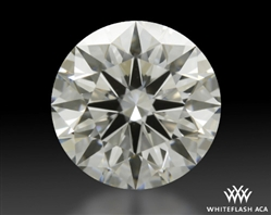 1.237 ct G VS1 A CUT ABOVE® Hearts and Arrows Super Ideal Round Cut Loose Diamond