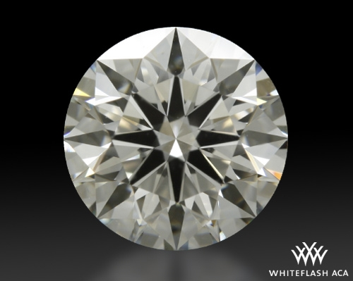 1.257 ct I VS1 A CUT ABOVE® Hearts and Arrows Super Ideal Round Cut Loose Diamond