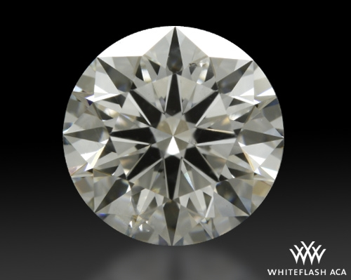 1.538 ct G SI1 A CUT ABOVE® Hearts and Arrows Super Ideal Round Cut Loose Diamond