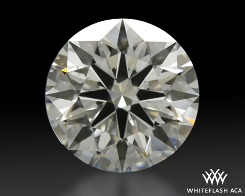 1.733 ct H SI1 A CUT ABOVE® Hearts and Arrows Super Ideal Round Cut Loose Diamond