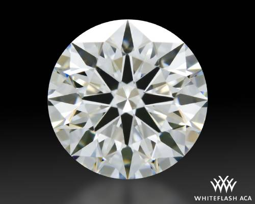 1.096 ct G VS1 A CUT ABOVE® Hearts and Arrows Super Ideal Round Cut Loose Diamond