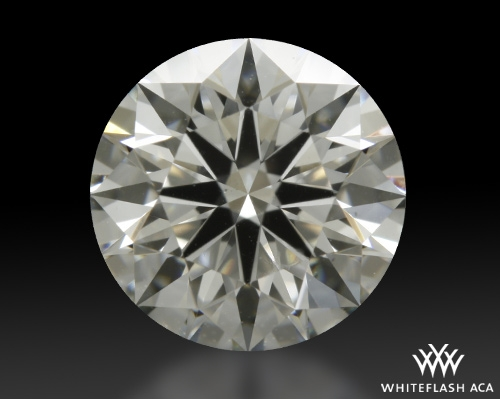 1.027 ct H VS2 A CUT ABOVE® Hearts and Arrows Super Ideal Round Cut Loose Diamond