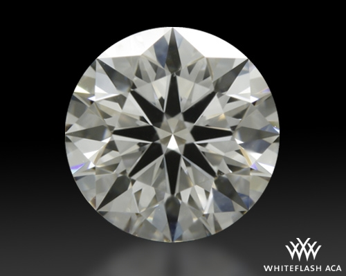 0.898 ct E VS1 A CUT ABOVE® Hearts and Arrows Super Ideal Round Cut Loose Diamond