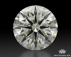 0.918 ct G VS2 A CUT ABOVE® Hearts and Arrows Super Ideal Round Cut Loose Diamond