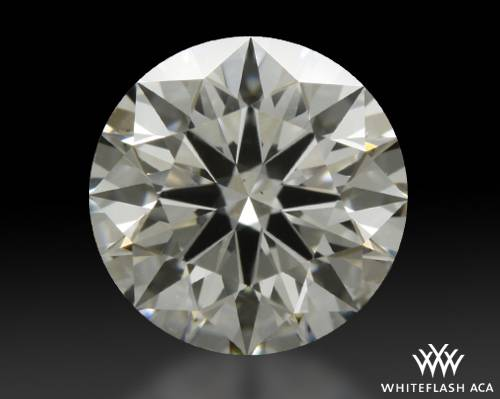 0.91 ct G SI2 A CUT ABOVE® Hearts and Arrows Super Ideal Round Cut Loose Diamond