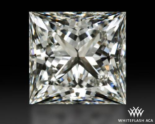 1.366 ct G VS1 A CUT ABOVE® Princess Super Ideal Cut Diamond