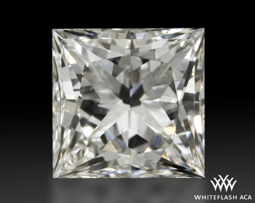 0.82 ct H VS1 A CUT ABOVE® Princess Super Ideal Cut Diamond