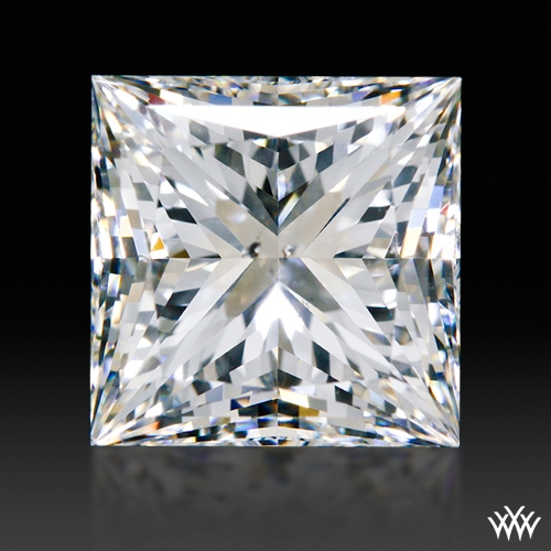 2.047 ct G SI1 A CUT ABOVE® Princess Super Ideal Cut Diamond