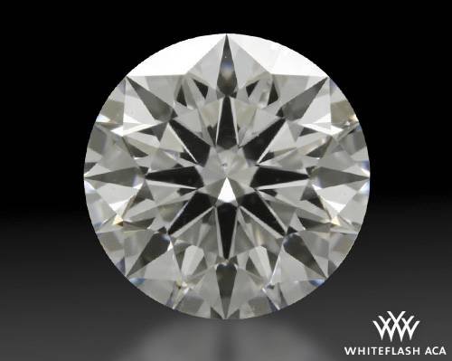 0.898 ct D SI1 A CUT ABOVE® Hearts and Arrows Super Ideal Round Cut Loose Diamond