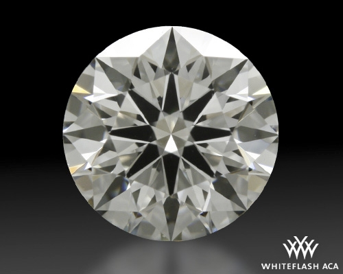 0.81 ct H VVS2 A CUT ABOVE® Hearts and Arrows Super Ideal Round Cut Loose Diamond